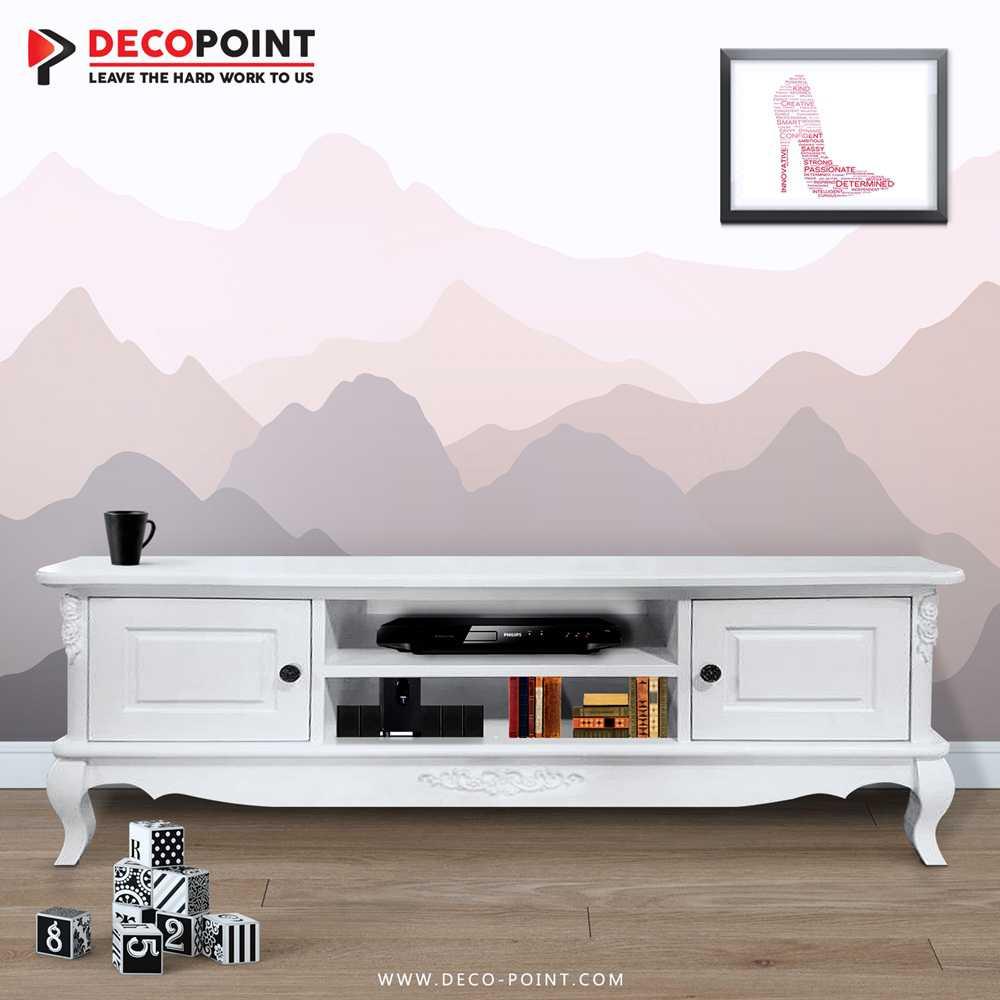 Meja Tv Kayu Yogyakarta Modern Minimalis Deco Point # Deco Table De Tv