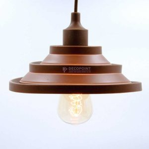 Lampu Gantung Caping Silikon brown